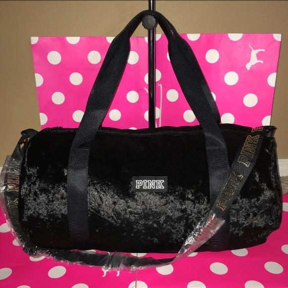 3af953d4f9cb5 New Victoria's Secret Pink Mini Duffle Bag NWT